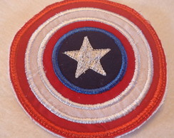 Patch Bordado Termocolante Super herói c