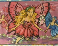 Painel Barbie Butterfly 1