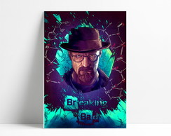 Placa Decorativa Breaking Bad A4-P1118