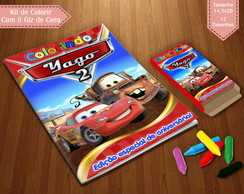 Kit de Colorir - Carros