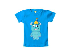 Camiseta INFANTIL Sulley Baby Monstros S.A. Halloween