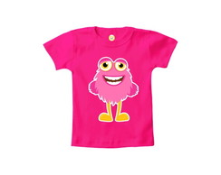 Camiseta INFANTIL OU Body Monstrinho Halloween