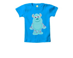 Camiseta INFANTIL Sulley Monstros S.A.