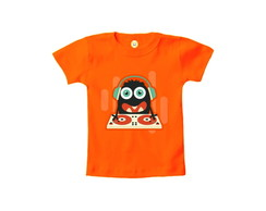 Camiseta INFANTIL OU Body Monstro DJ Halloween