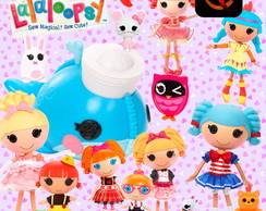 Kit Digital PNG - Lalaloopsy