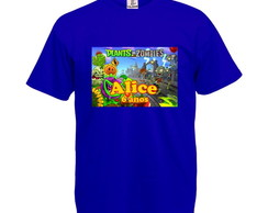 Camiseta Personalizada Plants Vs Zombies