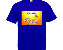 Camiseta Personalizada Tom e Jerry