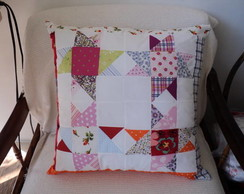Almofada Patchwork Morning Star 46cm