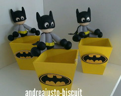CACHEPÔS DO BATMAN DE BISCUIT