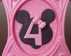Porta retrato de chocolate Minnie