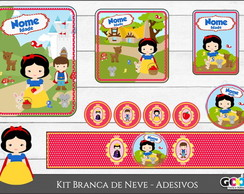 Kit Digital Festa - Branca de Neve
