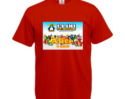 Camiseta Infantil Club Penguin