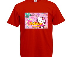 Camiseta Infantil Hello Kitty