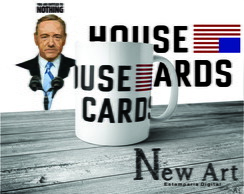 Caneca Seriado House of Cards