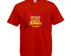 Camiseta Infantil High School Musical