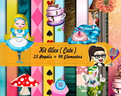 Kit Scrapbook Digital | Alice Cute