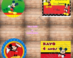 Kit arte digital Mickey