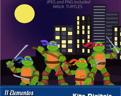 Kit Digital Tartarugas Ninjas 07