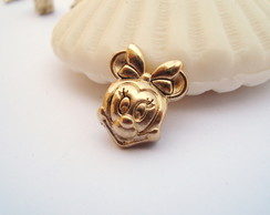 Berloque banh Ouro MINNIE disney