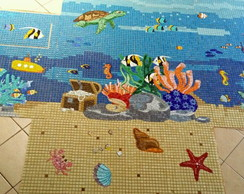 "Mosaico ""Fundo do Mar"""