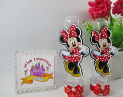 Tubete Scrap Minnie Vermelha