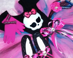 Fantasia da Monster High COM SAPATILHA