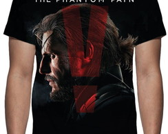 Camiseta Game Metal Gear Solid 5 The Phantom Pain
