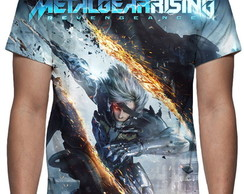 Camiseta Metal Gear Solid Rising Revengeance Mod 02