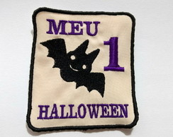 Aplique patch termocolante body - Meu 1º Halloween
