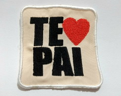 Aplique patch termocolante body - Te Amo Pai