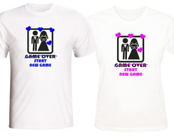 Camisetas Casal New Game