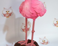 Flamingo de biscuit
