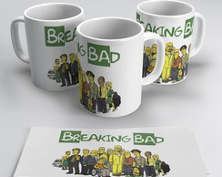 Caneca Breaking Bad #2