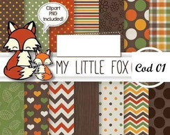 PAPEL DIGITAL My Little Fox