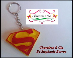 Lembrancinha Superman (Chaveiros em Biscuit Heroes