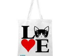 Ecobag Cat Love
