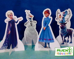 Display de Mesa Frozen: As aventuras de Olaf