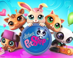 Painel 1x0,70 Littlest Pet Shop