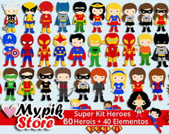 Kit Digital Super Herois Marvel e DC - 03