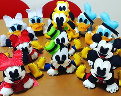 Turma do Mickey e Minnie Disney - feltro