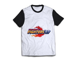 Camiseta King Of Fighters 97 Kof Camisa Blusa Fliperama Game