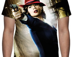 Camiseta Série Agent Carter - Estampa Total
