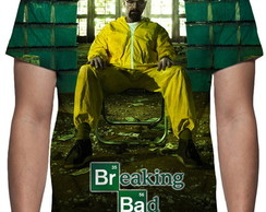 Camiseta Série Breaking Bad - Estampa Total