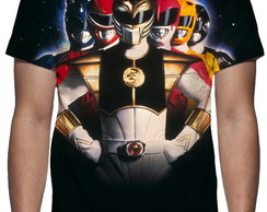 Camiseta Série Power Rangers - Estampa Total