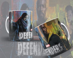 Caneca Herois Marvel Os Defensores