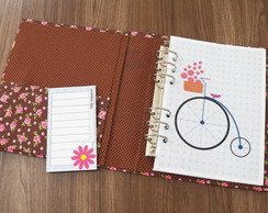 Kit simples planner A5 - Bicicleta (ARQUIVO DIGITAL)