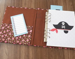 Kit simples planner A5 - Pirata (ARQUIVO DIGITAL)
