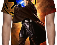Camiseta Anakin Skywalker Mod 03 - Estampa Total