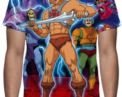 Camiseta He-man Mestres Do Universo Mod 02