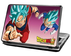 Skin Para Notebook - Goku e Vegeta - Dragon Ball Super